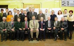 Сотрудники кафедры в 2005 г.