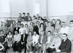 Сотрудники кафедры в 1978 г.